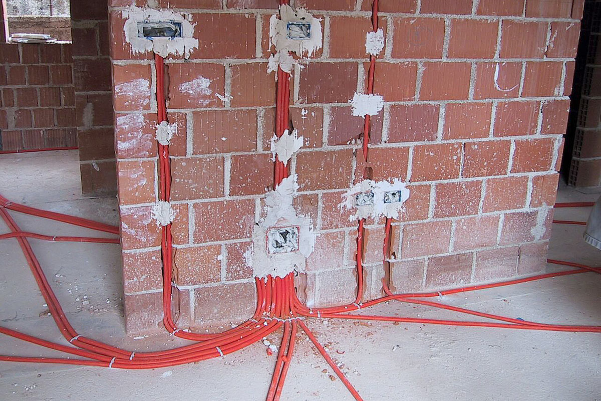Obiteljska kuća - polaganje podnih kablova