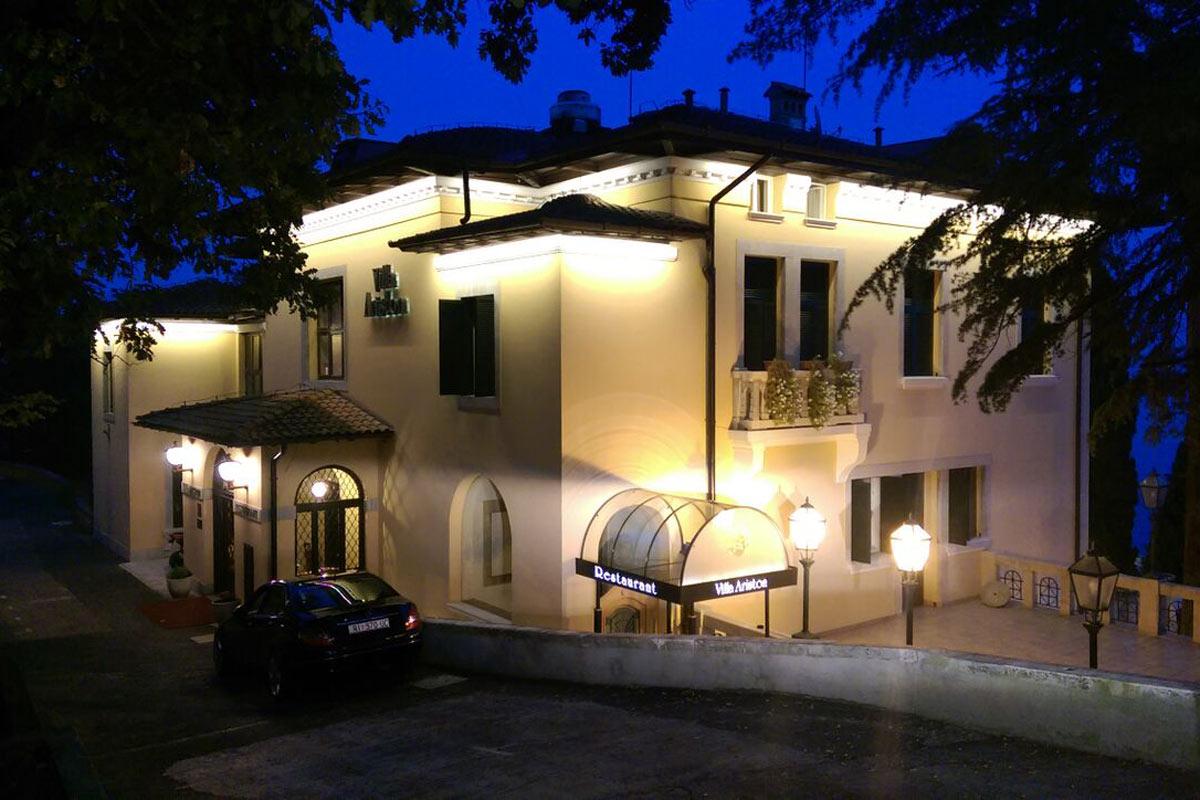 Villa Ariston - vanjska rasvjeta