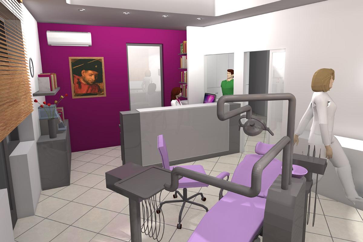 ordinacija dentalne medicine dalia jug dizajn interijera elektromont